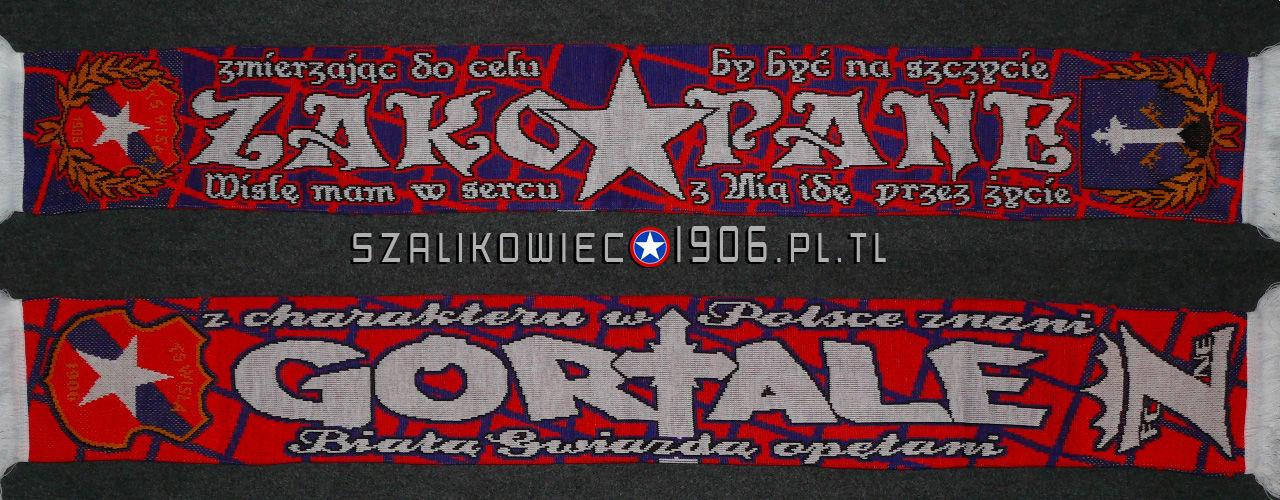 Szalik Wisła Kraków Zakopane Wzór 1