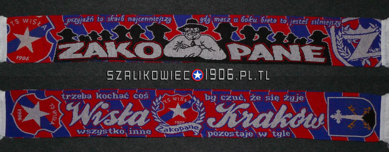 Szalik Wisła Kraków Zakopane Wzór 2