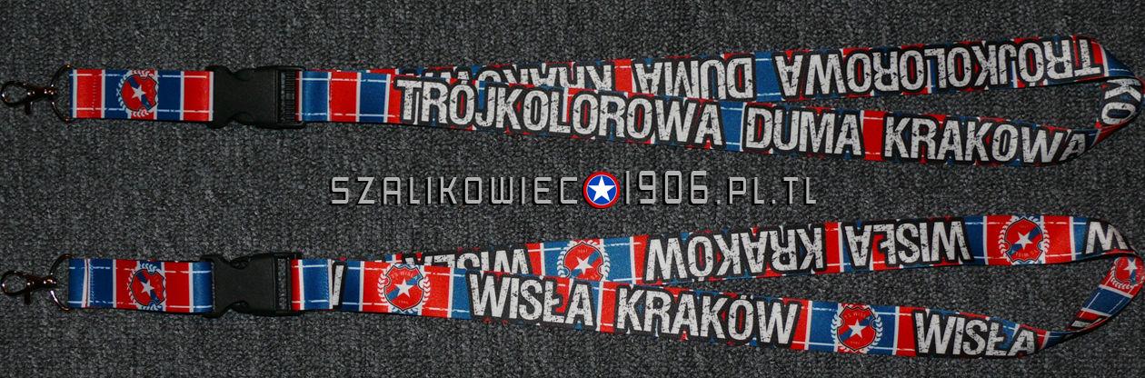 Smycz Trojkolorowa Duma Krakowa