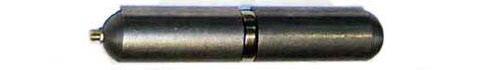 Каплевидная петля с подшипником и масленкой для металлических ворот
