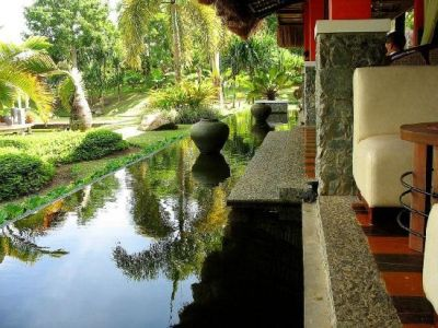 Reviews rafael farm and restaurant for Koi pond design layout