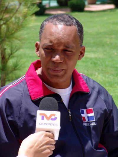 Entrenador Dominicano Jose Mora