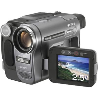 Digital video camera recorder dcr-trv285e pal