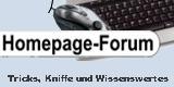 Homepage-Forum