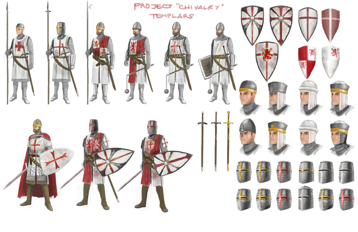 the-white-knights - Templar Knights