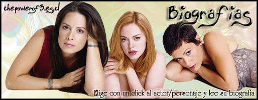 Biografías, thepowerof3.es.tl