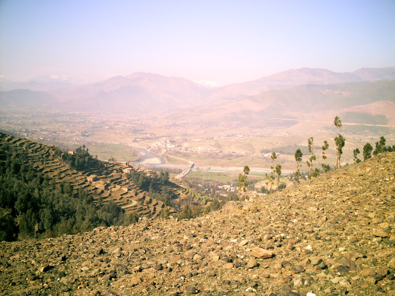 A view From the Thrai Hill.