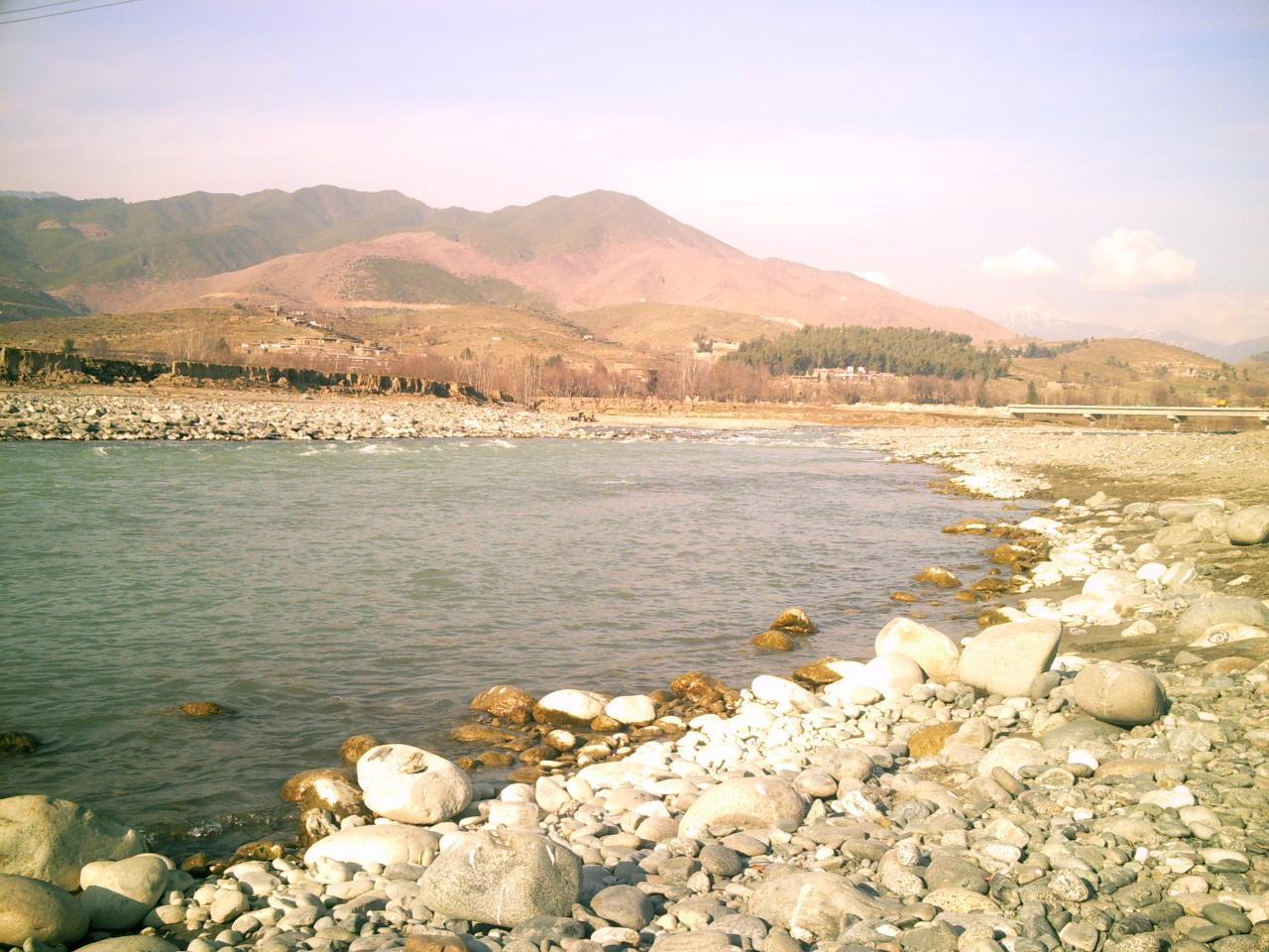 Panjkora River near Sangum