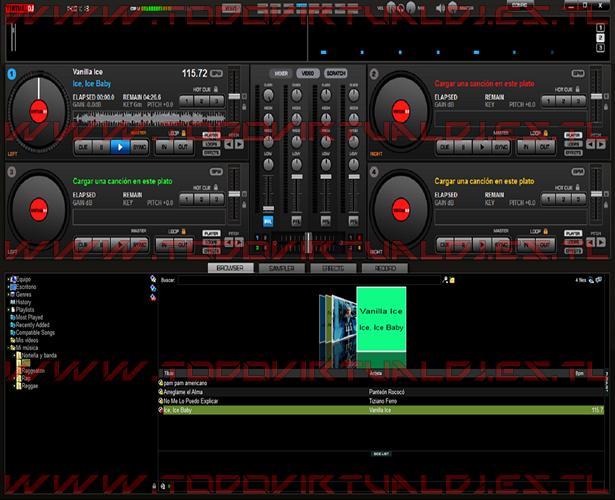 Virtual DJ 8 System Compatible