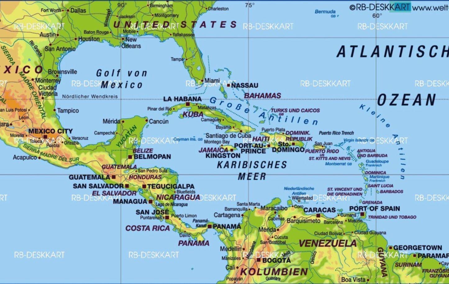 Karibik Karte Deutsch.Die Dominikanische Republik Mein Freiwilligendienst In Der Karibik