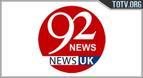 92 News UK tv online