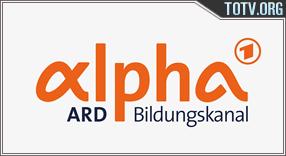 Watch ARD Alpha