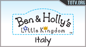 Ben & Holly's  italy tv online mobile totv