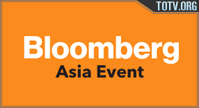 Bloomberg Asia Event tv online mobile totv