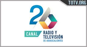 Canal 26 Aguascalientes México tv online mobile totv