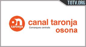 Watch Canal Taronja Osona