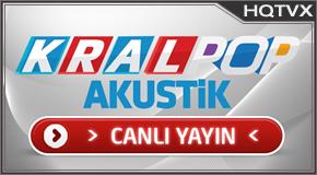KralPop Akustik tv online mobile totv