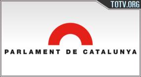 Watch Canal Parlament De Catalunya