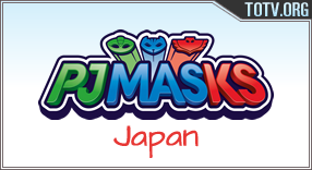 PJ Masks Japan tv online mobile totv