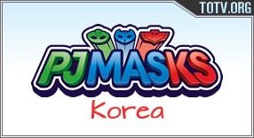 PJ Masks Korea tv online mobile totv