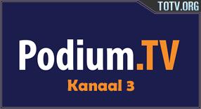 Podium Kanaal 3 tv online mobile totv