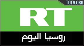 RT Arabic tv online mobile totv