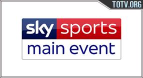Sky Main event tv online mobile totv