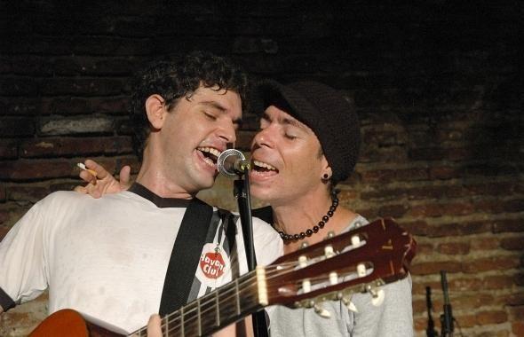 Michel Portela y Karel Fleites