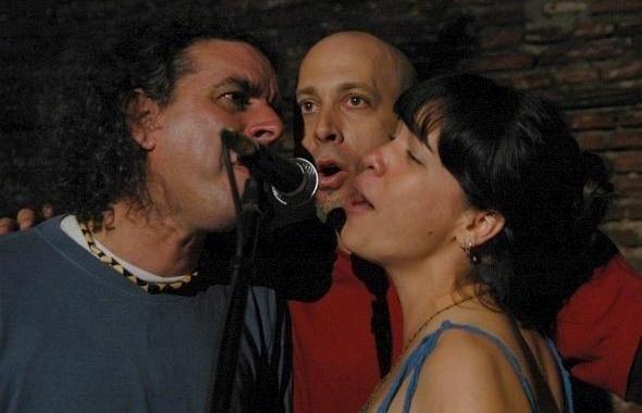 Alain Garrido, Leonardo García y Yaíma Orozco