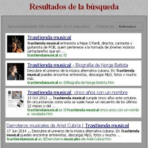 Se introducen mejoras en el buscador del sitio