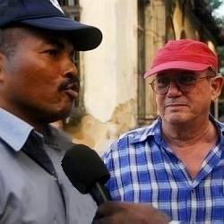 José Antonio Álvarez y Silvio Rodríguez