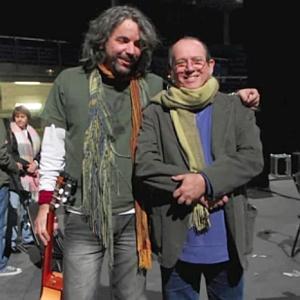 Karel García y Silvio Rodríguez