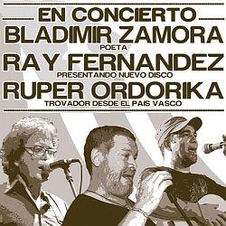Ray, Ruper y Bladimir en concierto