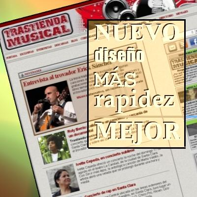 Trastienda musical se transforma