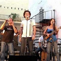 Yordán Romero, Michel Portela y Yaíma Orozco