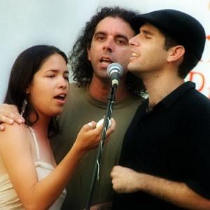 Yaíma Orozco, Alain Garrido y Michel Portela