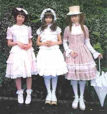 Tribus Urbanas Sweet Lolita