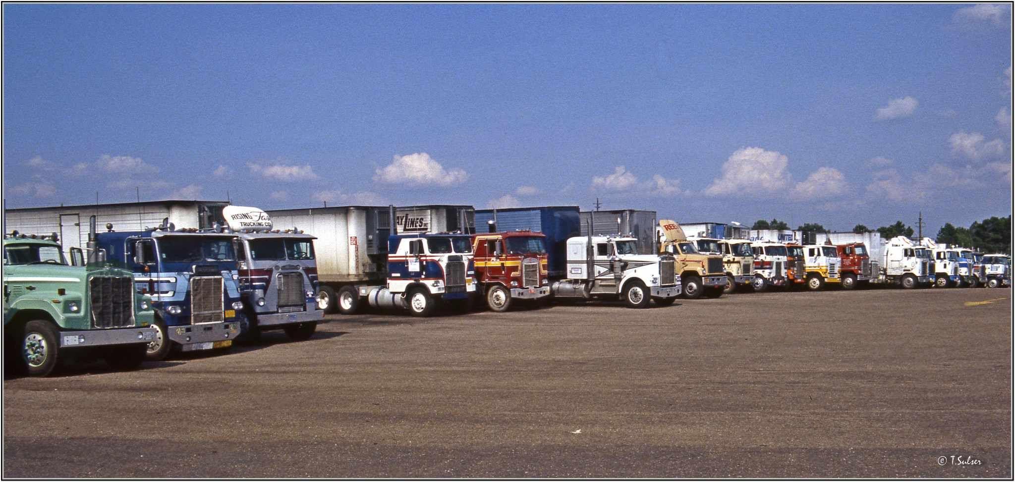 Truck driver worldwide truck stops