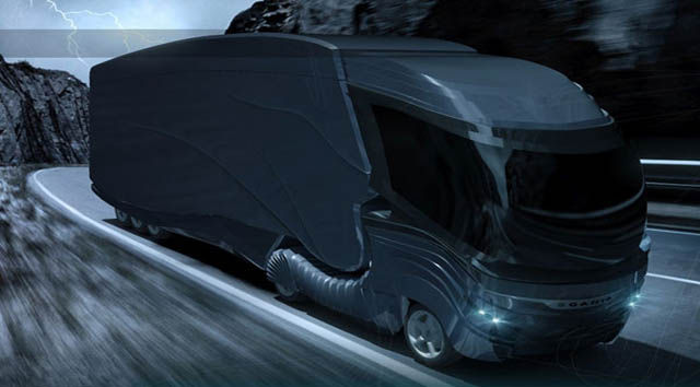 Scania Concept 18 Wheeler Spy Truck Tells All