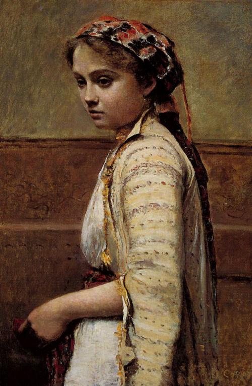 Turk-Sanat - Jean-Baptiste Camille Corot-9669