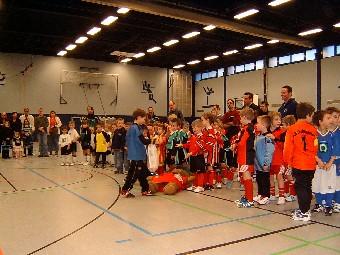 Kinderfussball bei Ballfreunde Bergeborbeck