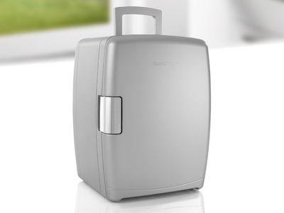 Mini Kühlschrank Für 1 Liter Flaschen : Amstyle mini kühlschrank liter minibar schwarz