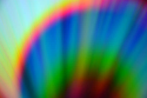 2.Bild abstract colorful lights on cd