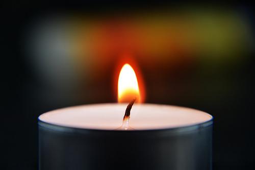 2.bild Kerze