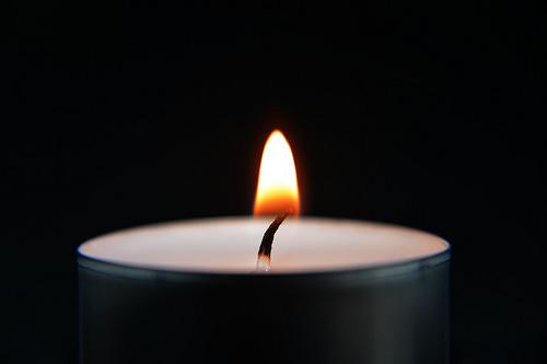 1.bild Kerze