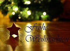 1.Frohe Weihnachten