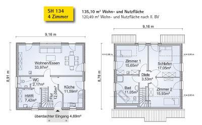 unser scanhaus moorrege die auswahl des hauses. Black Bedroom Furniture Sets. Home Design Ideas