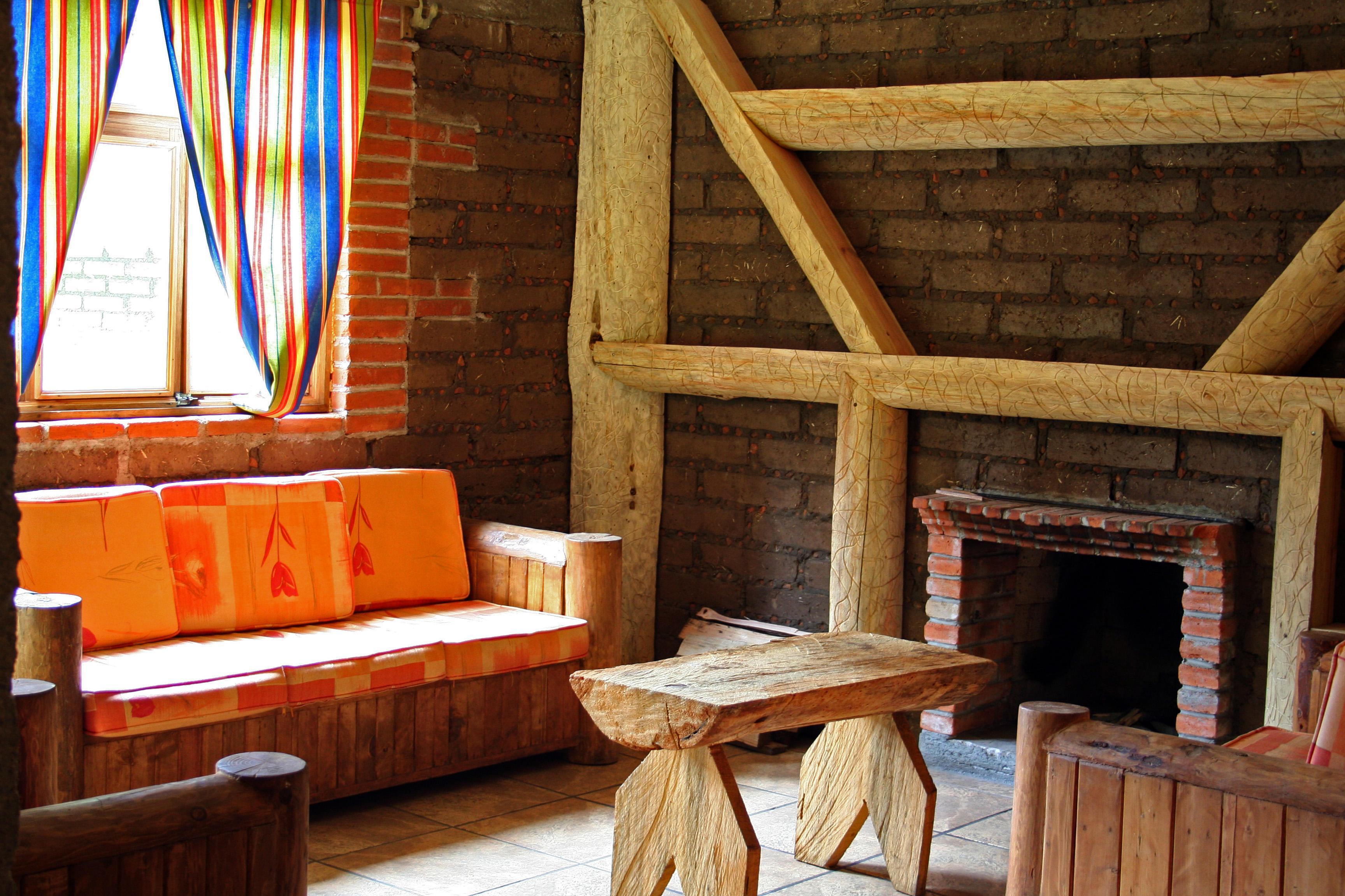 Descripción del hogarcillo de Elvi Interior_cabana