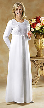 Vestidos de novia templo sud