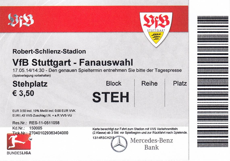Gutschein Vfb Stuttgart